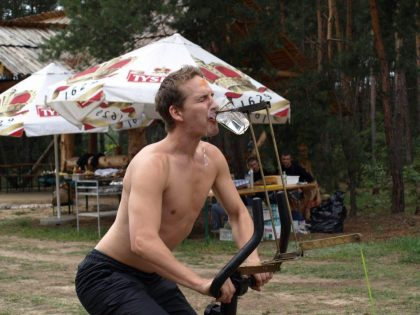 rower piwny
