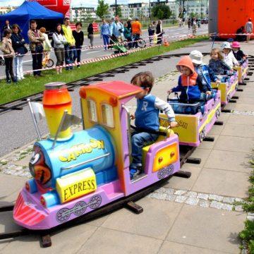 kolejka elektryczna dla dzieci