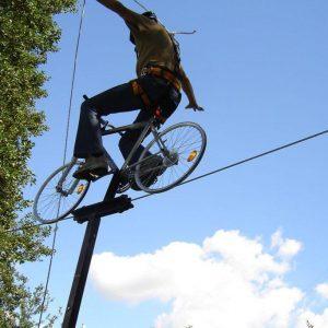 rower na linie