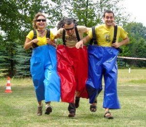 spodnie 3-osobowe
