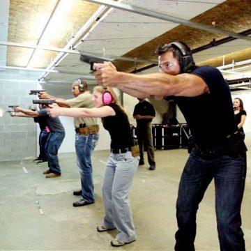 Broń ostra (strzelnica/poligon)