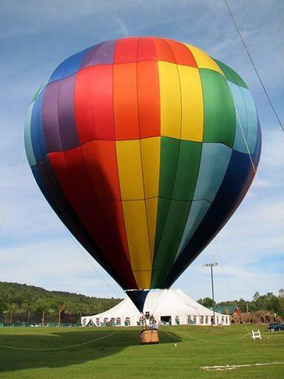 Loty widokowe balonem