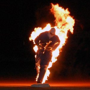Podpalenie człowieka