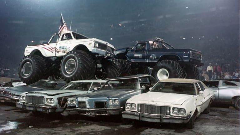 monster truck pokazy historia