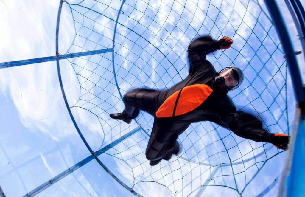 tunel aerodynamiczny aerotunel loty bodyflying